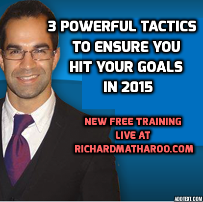 3 Tactics To Ensure You Achieve Your News Years Resolutions