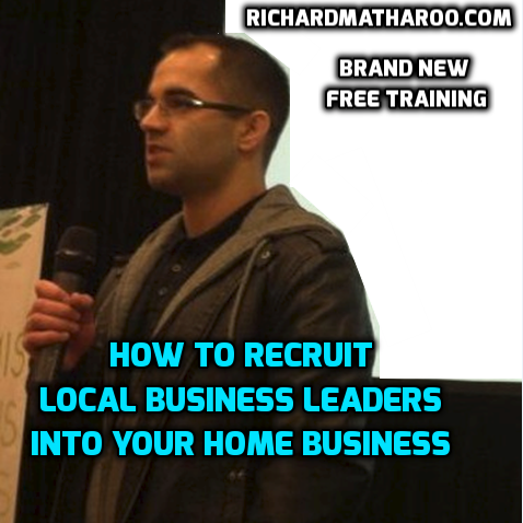 How To Recruit Local Business Leaders Into Your Home Business