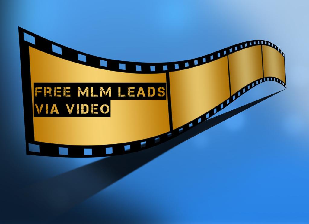 Free Network Marketing Leads:  Video Marketing