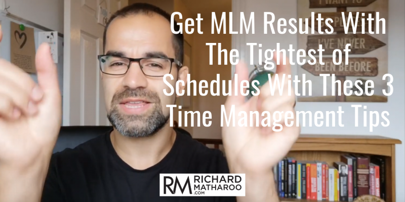network marketing time management